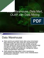 [Materi] Data Warehouse, Data Mart, OLAP, Dan Data Mining