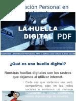 Información personal en internet. La Huella Digital .pptx