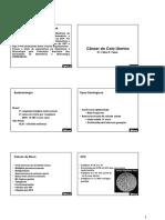 Medcel - Ginecologia - Cancer de Colo Utero