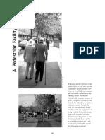 Pedestrian Facility Design