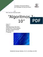 Algoritmos 1-10