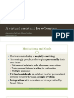 A Virtual Assistant for E-Tourism