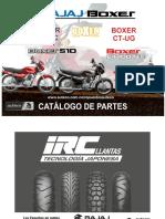 Catalogo de Partes Union Boxer Ct 100