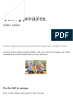 guiding principles slide show - harley parker