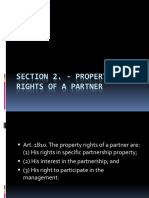 3SECTION 2 Propery Rights of a Partner