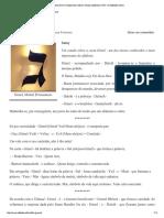 A Carta Gimel _Cabala Des Lettres_ Estudo Cabalística