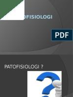Pertemuan 3 Pendahuluan Patofisiologi