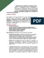 TERMINOS INCOTERMS21 EN COMERCIO INNTERNACIONAL