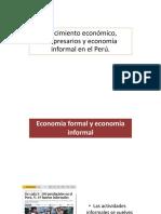 Crecimiento Economico Empresarios y Economia Informal Peru