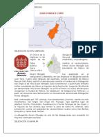 Toponimia Zona Poniente CDMX
