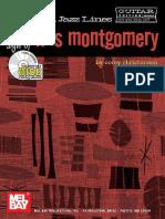 Wes Montgomery - Linhas Essencias de Jazz (Livro)