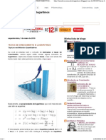Taxas de Crescimento e Logarítmos_ Taxas de Crescimento e Logaritmos
