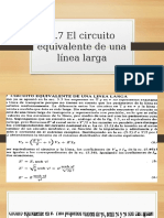 4.7 circuito equivalente de una linea larga