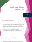 Desarrollo Cognitivo y Aprendizaje