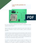Fabricación de Un Circuito Grabador de Memorias Eeprom 24C16