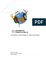 Competitive Advantage on Warming Planet FULL