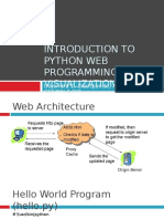 Introduction to Python Web Programming and Visualization