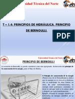 T_1-4_ Principios de Hidraulica - Ecuacion de Bernoulli (1)
