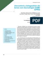 Telecontrol y Telegestión de Reconectadores Con Tecnología GSM-GPRS