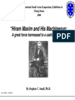 Hiram Maxim and His Machinegun