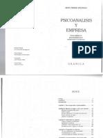 Bruneau -Psicoanálisis y EmpresaCap1
