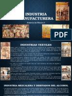 Manufactura en la Nueva España
