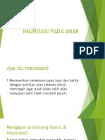 Power Poin Imunisasi Pada Anak