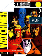 DC Heroes RPG - Who Watches the Watchmen