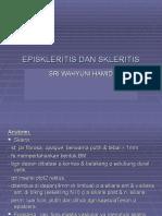 EPISKLERITIS DAN SKLERITIS (SW).ppt