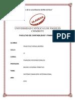 Analisis Sistema Financiero Internacional