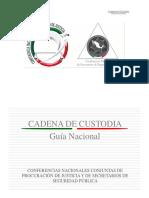 Guia Nacional de Cadena de Custodia
