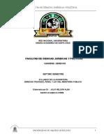 Derecho Procesal Penal y Ley Del Ministerio Publico
