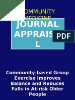 Journal Appraisal -Janel