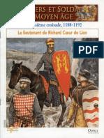 Osprey - Delprado - Chevaliers Et Soldats Du Moyen Age - 006 - La Troisieme Croisade 1188 - 1192