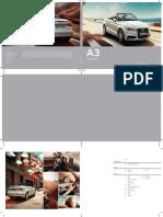 Audi a3 Cabriolet Brochure