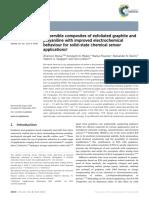 Boeva Et Al_RSC Advances_2014!4!46340_Dispersible Composites of Exfoliated Graphite and Polyaniline