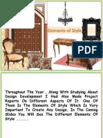 Period styles of furniture Geeta Phulwani
