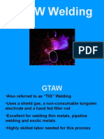 GTAW and Power Sources