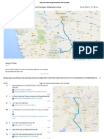 Sangvi Phata, India to Panchgani, Maharashtra, India - Google Maps