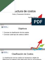 Estructura de Costos