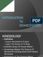 BioMechanics 1