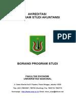 Borang Prodi Akuntansi Finis