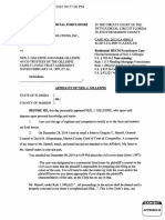 Appendix B, Affidavit of NJG Re Civil Cover Sheet Filing # 41583325