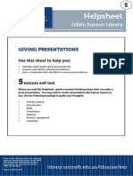 Giving Presentations UniMelb Xid-281116 1