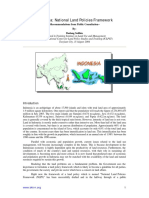 Indonesia-National Land Policies Framework
