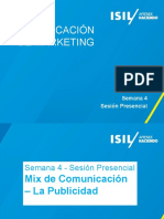 Com de MKT - 2015-1 - Semana 4 - SP - Mix de Comunicacion y Publicidad