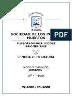 37289046 RESUMEN La Sociedad de Los Poetas Muertos