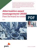 Alternative Asset Management 2020