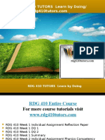 RDG 410 TUTORS Learn by Doing/rdg410tutors.com