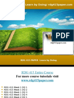 RDG 415 PAPER Learn by Doing/rdg415paper.com